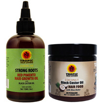 Tropic Isle Living Strong Roots and Coconut JBCO Hair Food Special