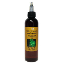 Olde Jamaica Black Castor Oil Treatment with Tea Tree Oil 4oz