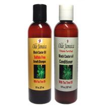 Olde Jamaica Black Castor Oil Shampoo and Conditioner Combo
