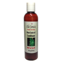 Olde Jamaica Vitamin Fortified Black Castor Oil Conditioner with Tea Tree Oil 8oz