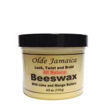 Olde Jamaica Lock Twist and Wave Logwood BEESWAX with Lime and Mango Butters 4oz