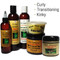 Olde Jamaica Black Castor Oil Multi Texture Hair and Skin Care Combo 1