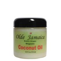 Olde Jamaica Extra Virgin Organic Coconut Oil 4oz