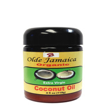 Olde Jamaica Extra Virgin Organic Coconut Oil 4oz