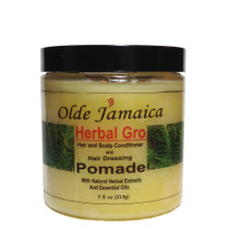 Olde Jamaica Herbal Gro Pomade With Natural Herbal Extracts and Essential Oils 7.5oz