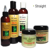 Olde Jamaica Black Castor Oil Moisturizing Hair and Skin Care Combo 3