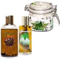 Fountain Jamaican Black Castor Oil and Pimento Oil Gift Set 1
