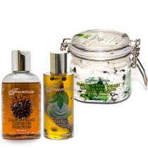 Fountain Jamaican Black Castor Oil and Pimento Oil Gift Set 2
