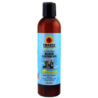 Tropic Isle Living Jamaican Black Castor Oil Moisturizing Shampoo with Shea Butter 8oz