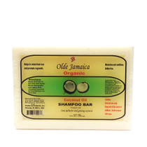 Olde Jamaica Coconut Oil SHAMPOO BAR with Saw Palmetto & Ginseng Extracts 3.5oz