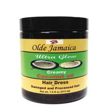 Olde Jamaica Ultra Glow Creamy Coconut Oil Hair Dress 7.5 oz