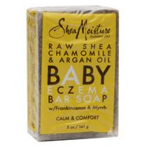 Shea Moisture Raw Shea Butter Chamomile Argan Eczema Soap 5oz