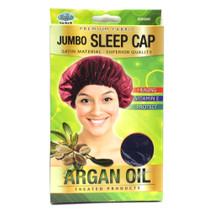 Argan Oil Treated Jumbo Sleep Cap