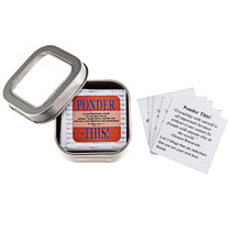 Ponder This! Notes: 52 Mini Messages in a Tin