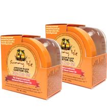 Sunny Isle Jamaican Black Castor Oil Edge Hair Gel 3.5oz 2-Pack