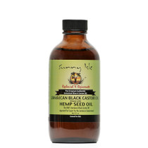 Sunny Isle Jamaican Black Castor Oil infused with HEMP SEED OIL 4Oz