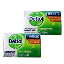 Dettol Anti-Bacterial Hand & Body Bar Soap Original 110Gr 3.88 Oz 2-PACK