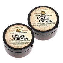 Sunny Isle Jamaican Black Castor Oil Hair Food Pomade Formulated Just for Men 4Oz 2-Pack