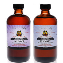 Sunny Isle Lavender Jamaican Black Castor Oil and Rosemary JBCO 8Oz 2-Pack