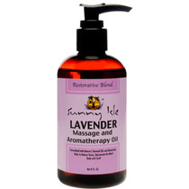 Sunny Isle Jamaican Black Castor & Lavender Massage and Aromatherapy Oil - Restorative Blend 8oz