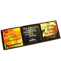 Healing Blends Cold Crafted Affirmation Soap 3-Pack Combo