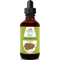 Tropical Holistic 100% Pure Organic HEMP SEED Oil 4oz