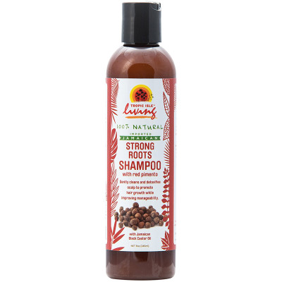 Tropic Isle Living Jamaican Strong Roots Shampoo with Red Pimento 8oz