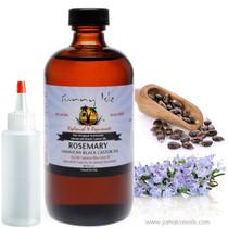 Sunny Isle Jamaican Black Castor Oil Rosemary 8 Oz
