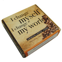Healing Blends Arabian Coffee Scrub Affirmation Soap