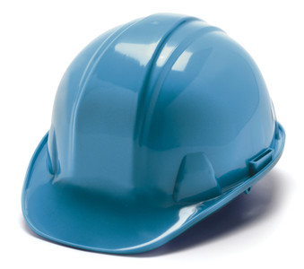 "HARD HAT FEATURES • Shell constructed from High Density Polyethylene materials. • Low profile design. • Rain trough on sides and back of helmet channel moisture away. • Universal accessory slots fit cap mounted ear muffs and accessories. Hats also accommodate chin straps. • Snap Lock suspension features ""tuck away"" adjustments for all day, hassle free wear. • Ratchet suspension is easy to adjust and allows the wearer to modify the fit while wearing hard hat. • Cap style is available with 4- and 6-point nylon suspensions – Snap Lock and Ratchet styles. • Full Brim style is available with 4- point and 6-point nylon ratchet suspensions. • Soft brow pad is replaceable. Replaceable suspensions and headbands also available. • Exceeds ANSI Z89.1-2009, Type 1, Class C, G, and E for industrial head protection."