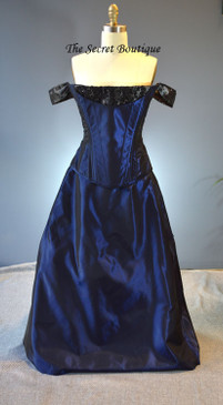 Movie Gown Bustle Gown