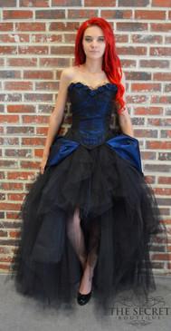 Dark Blue Fairy Prom Dress