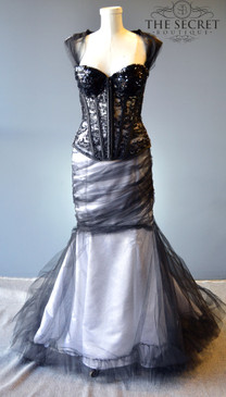 Enchanted Night Gothic Couture Gown