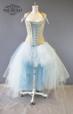 Tulle skirt mint version plus size