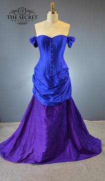 Victorian Mermaid Wedding Gown Gown