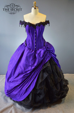 "Gothic Wedding Gown ""Moonstruck"""