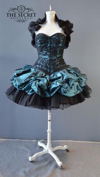 Short corset dress custom made