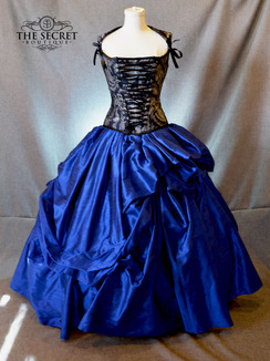 Silk Corset Gown