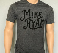 Mike Ryan Charcoal/Black Tee