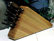 Full Tang / Rosewood Line 7 Piece Set w/Oak Triangle Block