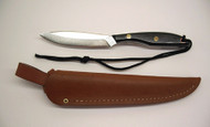 Grohmann M2S Trout & Bird Knife / Micarta Handle / Sheath