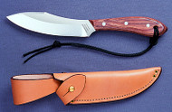Survival Knife with classic rosewood handle, high carbon stainless steel blade, regular sheath #R4S Sugg Retail $119.00