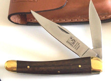Suggested Retail $61.25 Regular Rosewood handle, brass liners and pins, two stainless steel blades