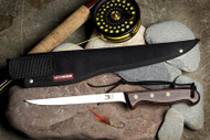 "6"" fillet shown with cordura waterproof sheath RFC600S Sugg Retail $71.25"