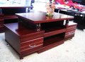 Mahogany 1.2M TV unit