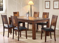 Extend wooden dining table