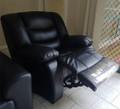 Black Single seat recliner sofa