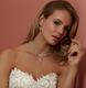 Diamante y shaped stunning necklace perfect for bridal