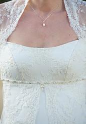 Pia freshwater bridal pearl pendant