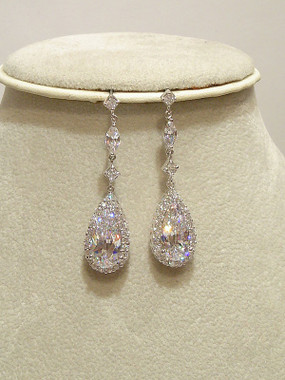 Isabella diamante evening earrings